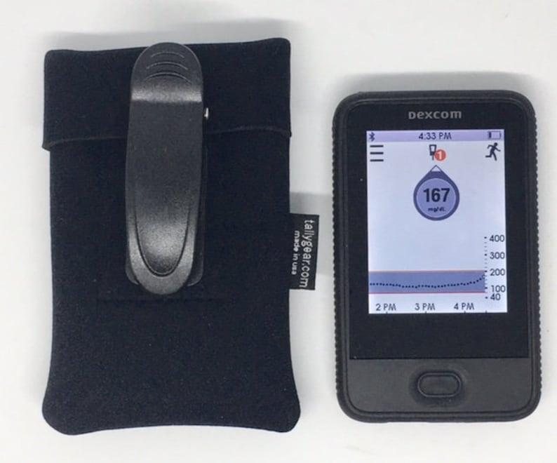 Dexcom G6 Case, Dexcom G5 Case, Dexcom Mobile Touchscreen Pouch, Dexcom G6  Pack, Dexcom Case Full View Window, Dexcom G6 Belt Clip case