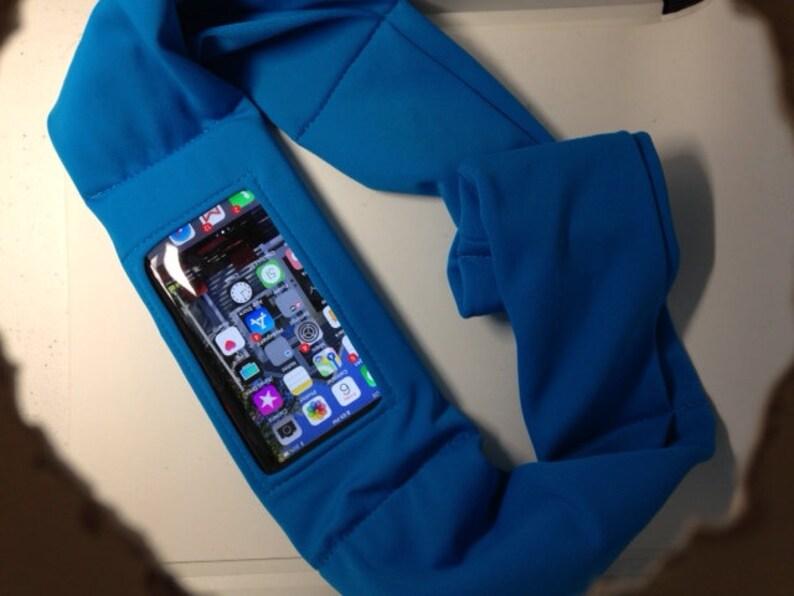 High Performance Smartphone Tummietote Belt w 1 oversized clear view vinyl window