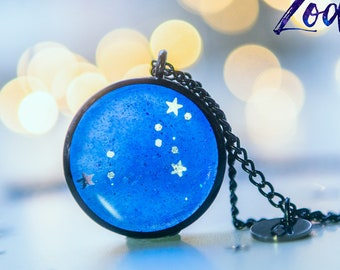 Leo necklace,birthday gift for women, Zodiac Jewelry,Astrology necklace,celestial jewelry Constellation Necklace, Zodiac sign necklace