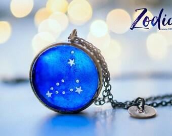 Capricorn necklace,celestial jewelry Zodiac Jewelry,Constellation Necklace,birthday gift for women,Astrology necklace, Zodiac sign necklace