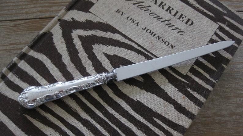 905d7c02a20d9 Vintage sterling silver letter opener Birks Pompadour