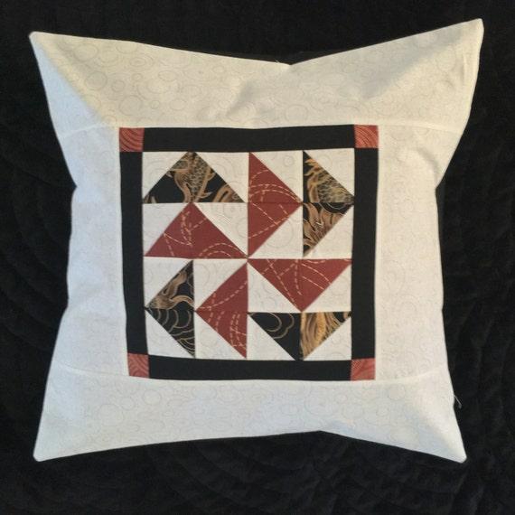 Asian Flair Decorative Pillow