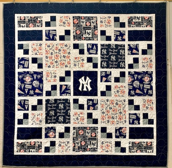 Custom Sport TeamThrow Quilt  - approximately 60 x 75 - Made-to-Order