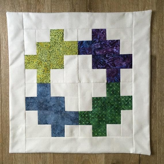 SPLASH OF BATIK 2 - Custom Decorative Pillow Cover