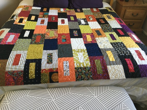 SO MANY DOORS - Handmade Lap Quilt - Made-to-Order