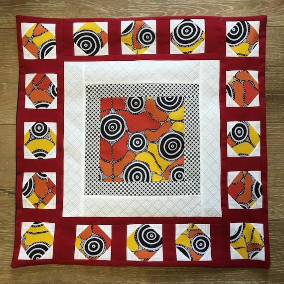 ABOURIGINESE FLAIR - Custom Decorative Pillow Cover