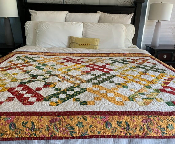 French Spring Lattice Quilt