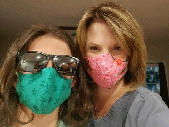 Protective Face Mask - High Quality Reusable - Washable - All sizes- All colors