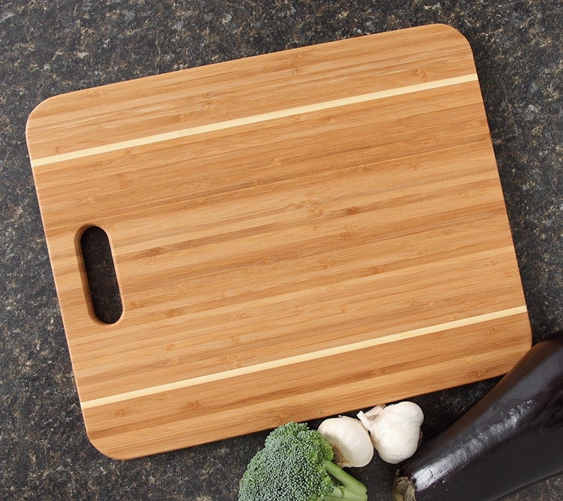 Mothers Day Personalized Cutting Board Engraved Bamboo Cheese gift for Mom