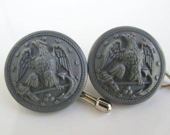 Navy uniform buttons | Etsy