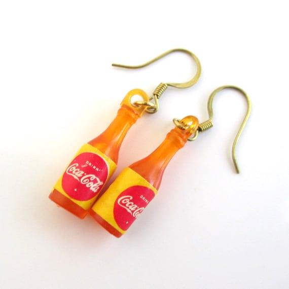 Cola Charm Earrings