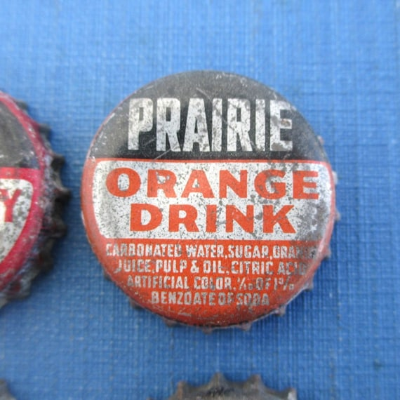 2 Vintage 1950/'s Bon-Ton Strawberry Unused Soda Pop Bottle Caps Cork Waukesha WI