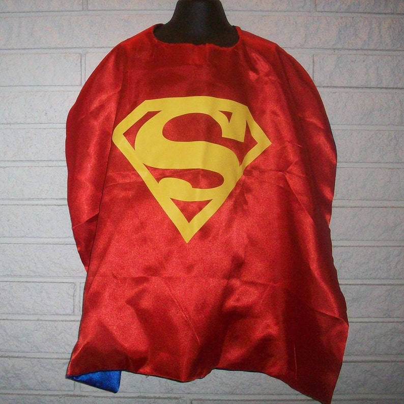Red Superman Inspired Cape