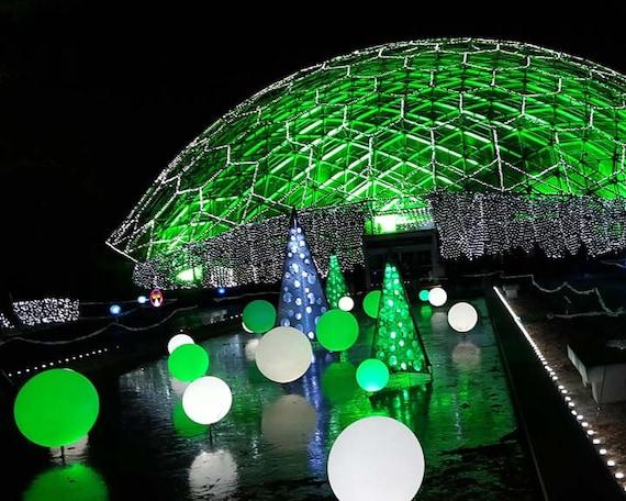 Missouri Botanical Garden Glow in St. Louis Missouri Fine | Etsy