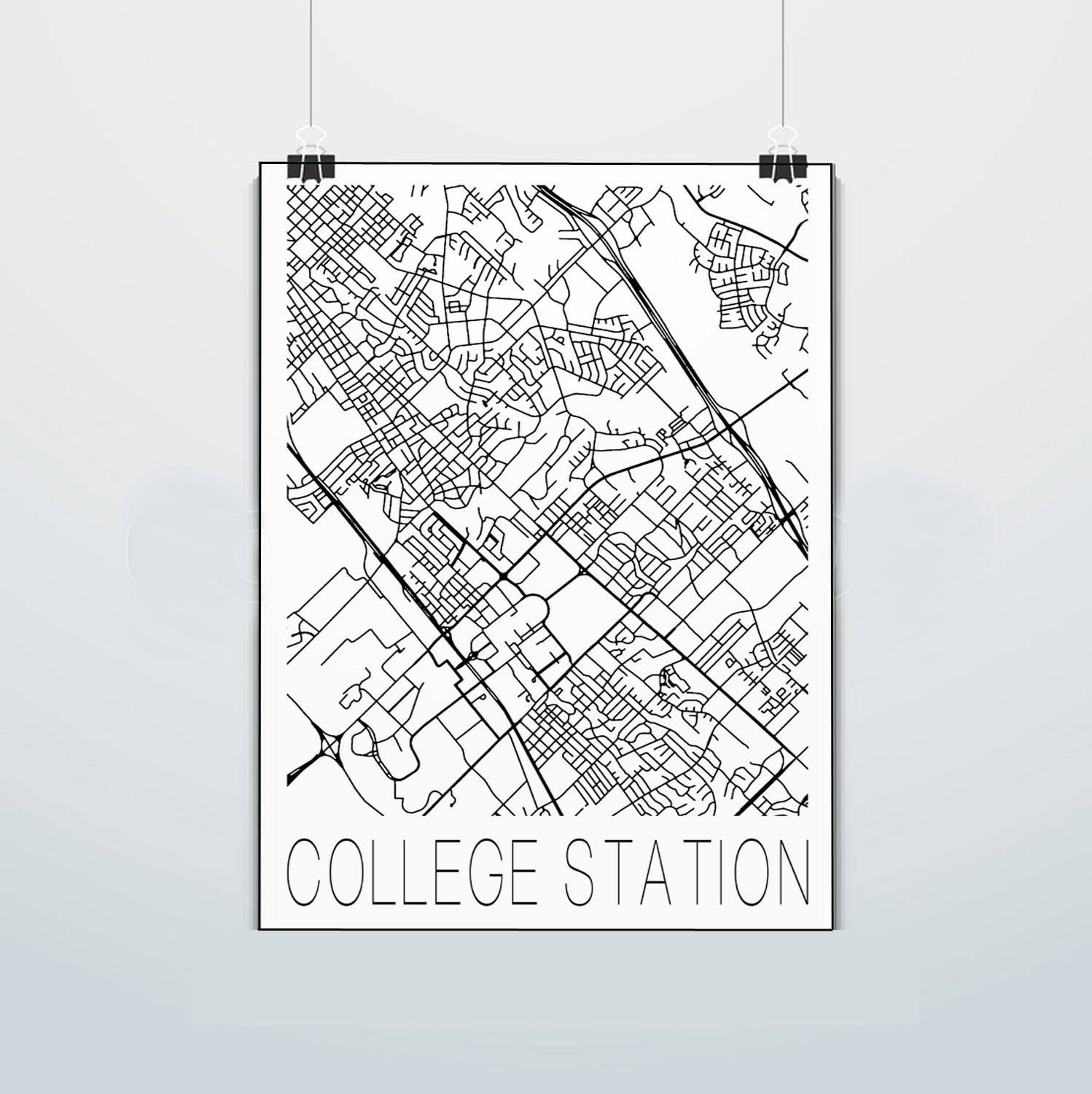 College Station - Texas - Map - Aggies - P Texas A&M - Print - Poster on jonesboro texas map, chattanooga texas map, rice university texas map, bryan texas map, cisco texas map, tyler texas map, new braunsfels texas map, auburn texas map, gonzales texas map, texas a&m university campus map, livingston texas map, lufkin texas map, all universities texas' map, texas state university texas map, austin texas map, fort worth texas map, seattle texas map, fort smith texas map, lubbock texas map, california texas map,