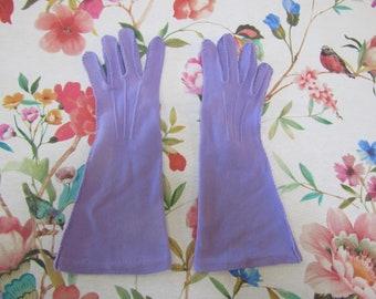 1950s Gloves 1950s Purple Gloves 1950s Purple Gloves Vintage Purple Gloves Vintage Gloves 1950s Nylon Gloves Purple Gloves