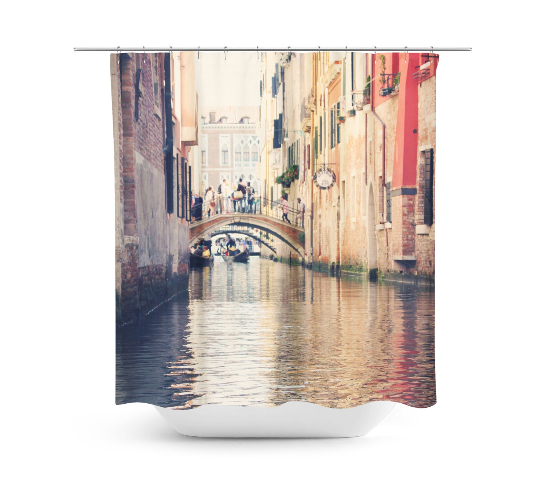 Venice Shower Curtain Travel Photo Venetian Photograph