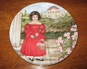 Vintage Collectible Decorative Plate Artist Signed