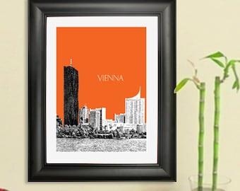 Vienna Austria Skyline #3 Poster - Vienna Austria Art Print