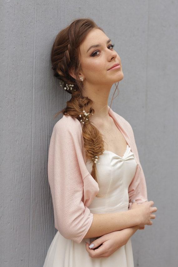 Plus size shawl, wedding shawl, blush shawl, plus size bride, shawls and wraps, blush wedding bolero