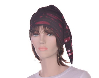Ghost Pirate Tattered Stocking Cap Zombie Hat Destressed Goth Hat