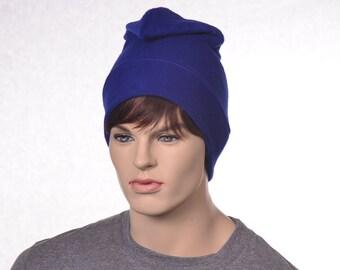 Royal Blue Phrygian Cap Simple Liberty Hat Mens Hat Women Blue Pointed Hat Bastille Day Hat