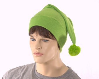 Custom Order for Elijah Stocking Cap Mens Womens Hat with Pompom Pointed Hat with Fuzz Ball