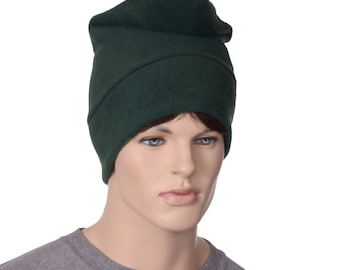 Dark Green Phrygian Cap Simple Liberty Hat Forest Green Elf Gnome Hat Cosplay