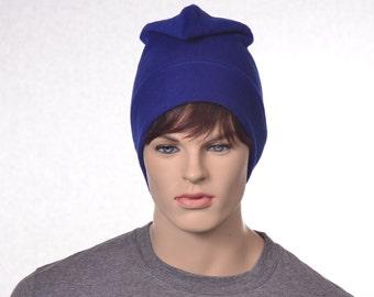 Phrygian Cap Royal Blue Simple Liberty Hat Mens Hat Women Blue Pointed Hat Bastille Day Hat