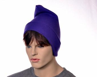Purple Phrygian Cap Liberty Hat Mens Hat Women Elf Pointed Hat Unisex Adult Watchman Pointed Hat Cosplay