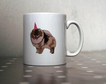 Pomeranian Ceramic Mug