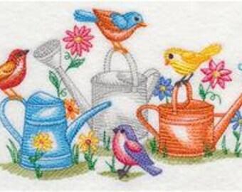 Tweeting in the Garden Quilt Block