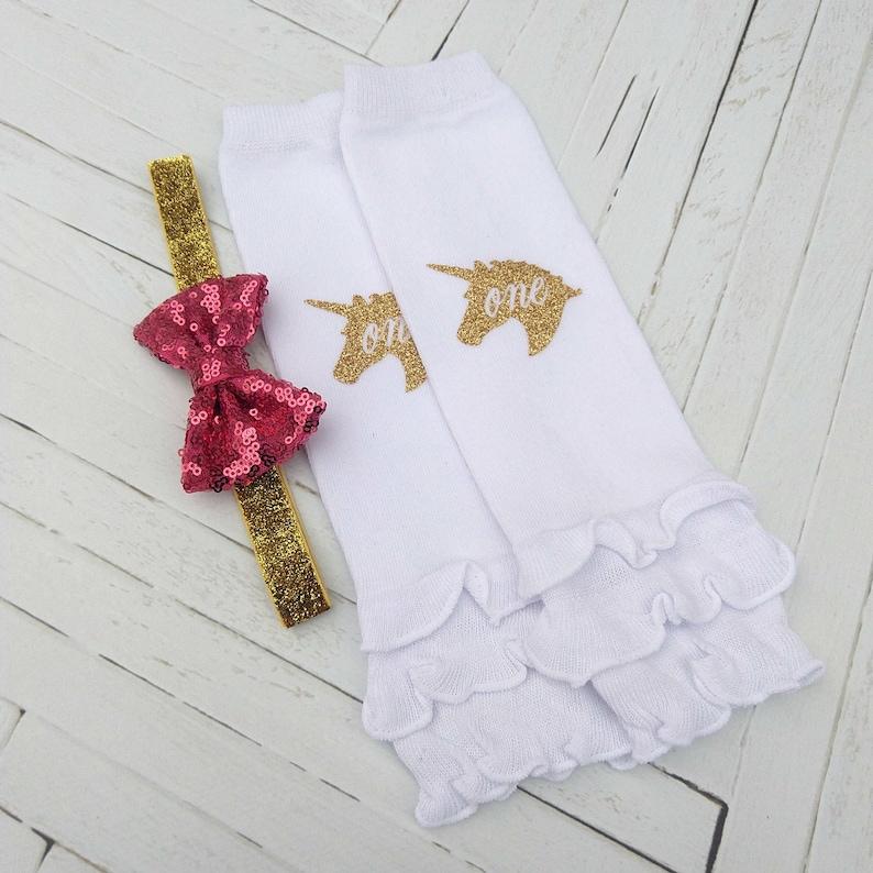 Fuchsia Tutu Bloomer Photo Prop Cake Smash First Birthday Bodysuit Hot Pink and Gold Unicorn Birthday Outfit 1st Birthday Girl Outfit