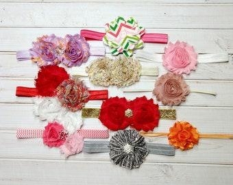 Headband Set, Baby Headbands, Grab Bag, Toddler Headbands, Photo Prop, Infant Headbands, Baby Girl Headbands, Baby Girl Bows, Newborn-3M-#6