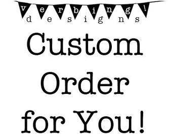 FREE SHIPPING - Custom Order Hoodie for YOU