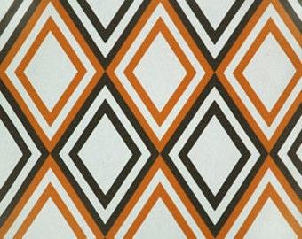 BOGO FREE SALEShower  Curtain  Premier Prints Annie Sweet Potato Natural Linen Diamond 72x72