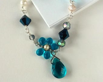 Bluegrass Collage Necklace
