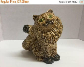 persian cat statue etsy