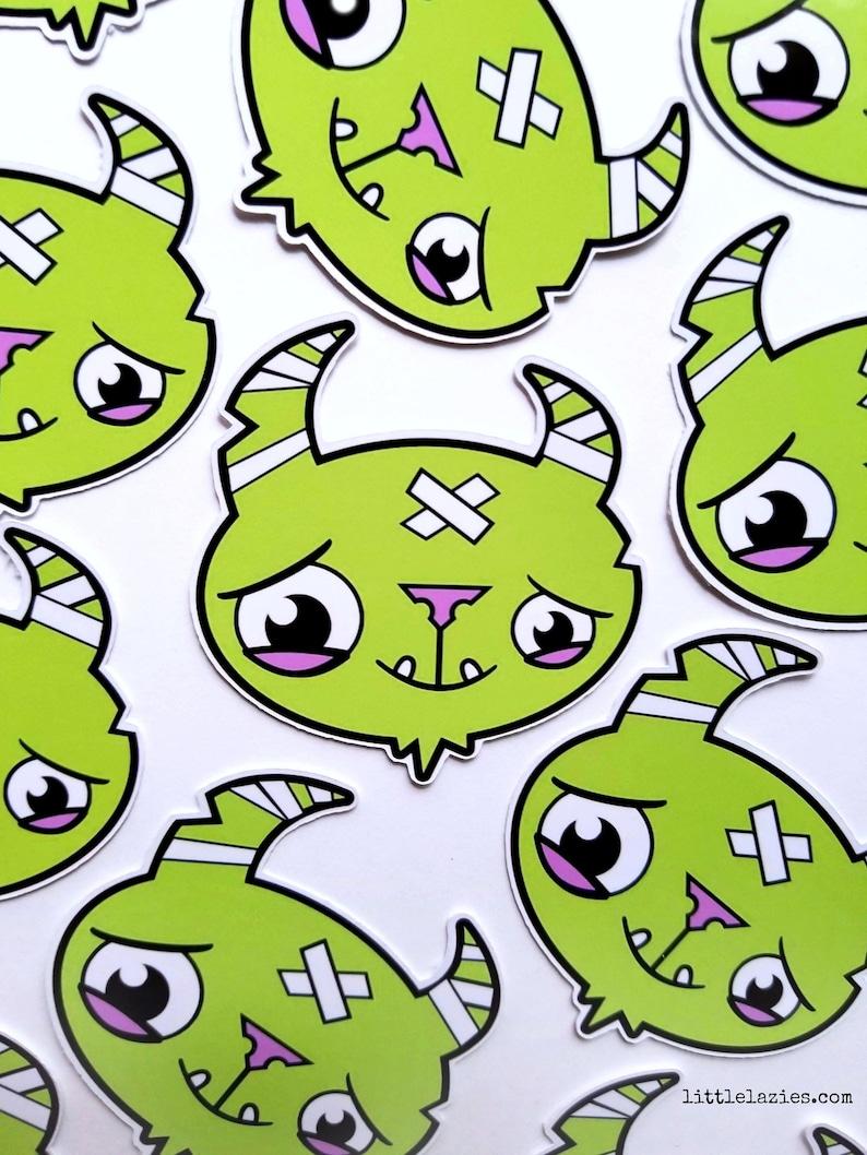 Little Lazies Logo Sticker  Die Cut  2x2 Inches  Designed image 0