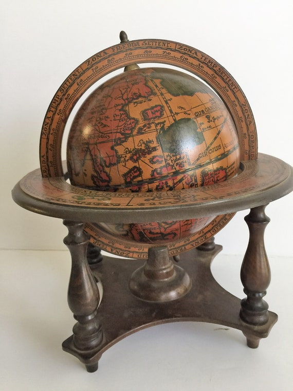 Vintage Old World Desktop Glob 11