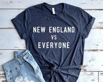 New England Football Patriots Shirt - New England VS Everyone - Football  Season Shirt Pats Fan Short-Sleeve Unisex T-Shirt d628bb1bac