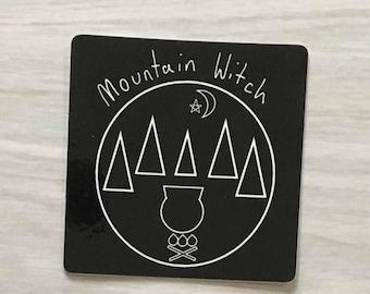 Mountain Witch Sticker