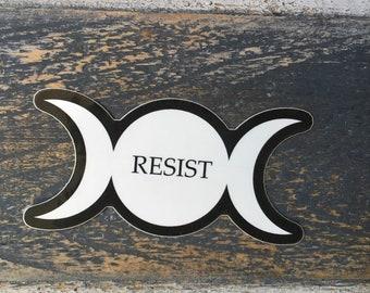 Sticker: Triple Moon Resist