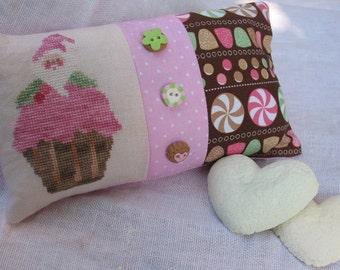Schema punto croce Santa's Pastel Pudding