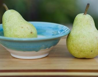 Small Multi purpose Turquoise Glaze Bowl