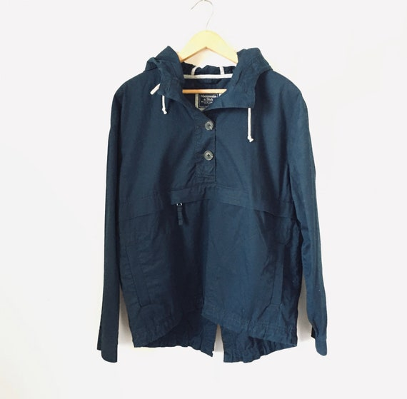 Vintage Anorak, Abercrombie and Fitch, Dark Blue J