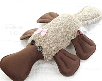 Stuffed Platypus Plush Child's Toy Plushie