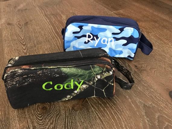 5e53a4691647 Camo Toiletry Bag Personalized Dopp Kit Monogram Travel