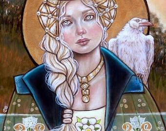 Elizabeth Woodville English Queen War of the Roses fine art print