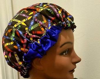 Children's Satin-lined Bonnets